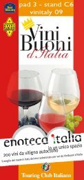 catalogo dei vini in degustazione - Epulae