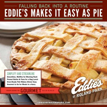 EDDIE'S MAKES IT EASY AS PIE - Eddies of Roland Park