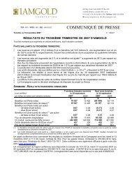 Télécharger le communiqué de presse (PDF 377 KB) - Iamgold