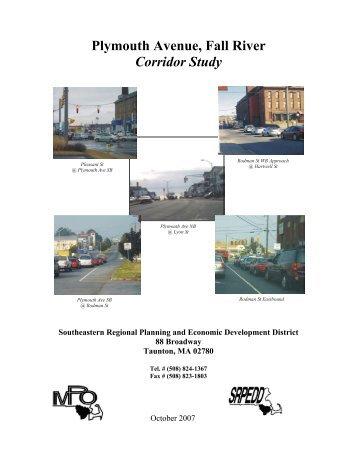 Plymouth Avenue, Fall River Corridor Study - Southeastern ...