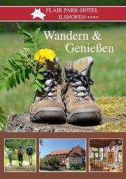 Broschüre Wandern.indd - Flair Park-Hotel Ilshofen