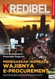 Majalah Kredibel Edisi 2 - LKPP