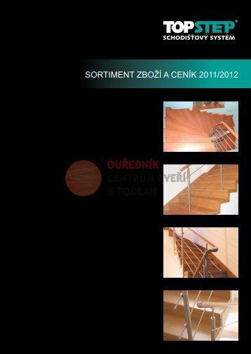 Ceník Topstep - finální pro tisk - verze 10-2011