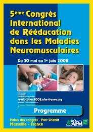 5ème Congrès International de Rééducation dans les Maladies ...