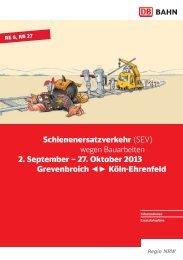 2013 Broschüre: Ersatzschienenverkehr zwischen ... - SPD Pulheim