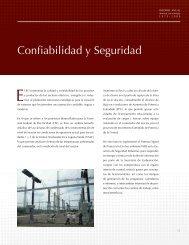 Confiabilidad y Seguridad - Instituto de Investigaciones Eléctricas