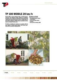 TP 100 MOBILE 20 km/h