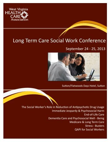 Long Term Care Social Work Conference - West Virginia Health ...