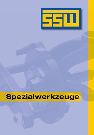 K 431 Kugelgelenk-Abzieher - SSW-Spezialwerkzeuge