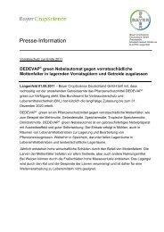 PI Dedevap - Bayer CropScience Deutschland GmbH