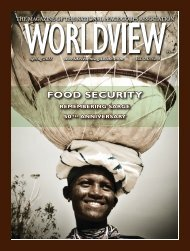 Most recent issue of WorldView magazine - National Peace Corps ...