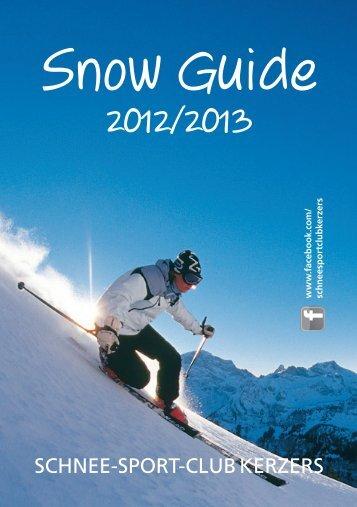 Schnee-Sport-club KerzerS - Ski- und Snowboardclub Kerzers