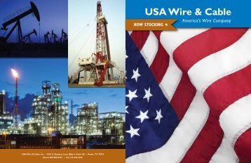 USE-2 or RHW-2 or RHH - U.S.A. Wire & Cable Inc.