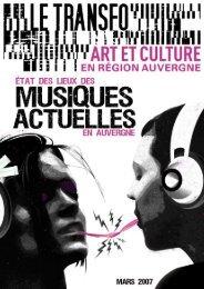 Musiques actuelles Auvergne - Irma