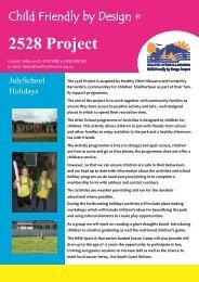 July School Holiday Program - Healthy Cities Illawarra