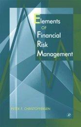 Elements of Financial Risk Management - Wiphala.net