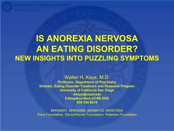 Treatment of Anorexia Nervosa - Maudsley Parents