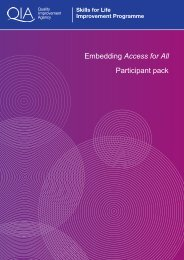 Embedding Access for All Participant pack - Skills for Life ...