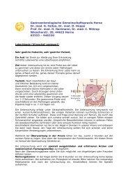 Leberbiopsie - Gastroenterologische Gemeinschaftspraxis Herne