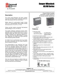 Cooper-Wheelock AS/AH Series - Gamewell-FCI