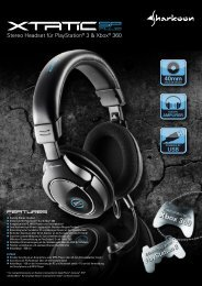 Stereo Headset für PlayStation® 3 & Xbox® 360 - Sharkoon