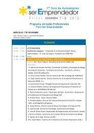 Programa - Asociación de Jóvenes Empresarios