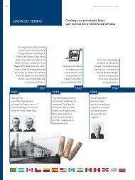 1901 1914 1946 1907 1933 1947 LINHA DO TEMPO - Gerdau