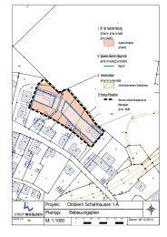 Bebauungsplan Ortskern Schatthausen, 1. Änderung - Stadt Wiesloch