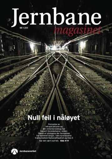 Null feil i nåløyet - Jernbaneverket