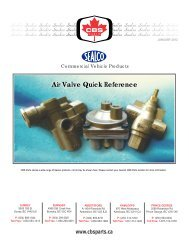 Sealco Catalogue WEB.cdr - CBS Parts Ltd.