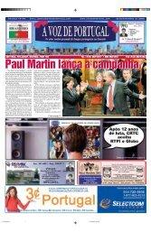 Paul Martin lança a campanha Paul Martin ... - A Voz de Portugal