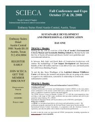 2008 FINAL SCIECA Fall Conf Brochure2.pub - International ...