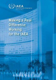 Making a Real Difference: Working for the IAEA - ACS Network