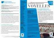 Télécharger le Voyelle Formation N°19 de janvier à juillet 2013.pdf