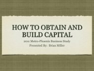 HOW TO OBTAIN AND BUILD CAPITAL