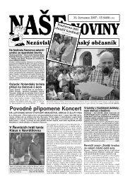 Číslo 15 - naše noviny archiv