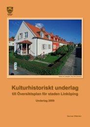 Kulturhistoriskt underlag - Weblisher