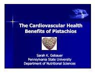 The Cardiovascular Health Benefits of Pistachios - Gesundheit mit ...