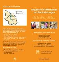 Angebote für Menschen mit Behinderungen - Sozial-Betriebe-Köln