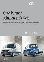 Gute Partner schauen aufs Geld. - Mercedes Benz