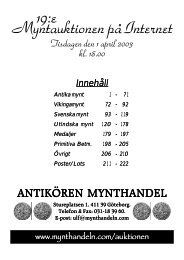 IT-auktion 19 - Mynthandeln.com