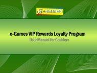 e-Games VIP Rewards Loyalty Program - nocookie.net