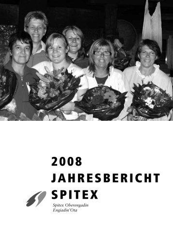 2008 JAHRESBERICHT SPITEX - Spitex Oberengadin
