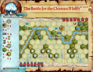 The Battle for the Chateau D'Issey