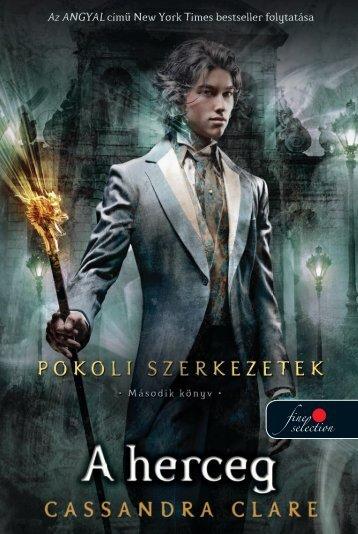 A herceg - Könyvmolyképző