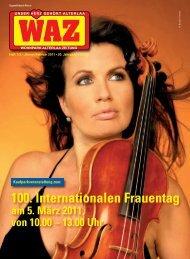 100. Internationalen Frauentag - SPÖ Alterlaa