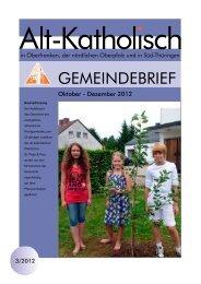 Aktueller Gemeindebrief 3/2012 (als pdf-Datei) - Alt-Katholische ...