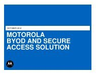 BYOD And Secure Access Solution - Wireless Network Solutions
