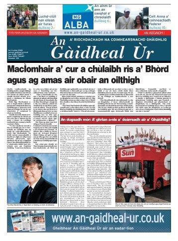 An t-Iuchar 2008 - Fòram na Gàidhlig