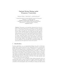 Optimal String Mining under Frequency Constraints - Algorithms in ...